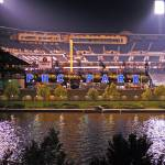 """PNC Park after the Game"" by BlushingCowStudios"