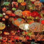 """Lanterns in the Grand Bazaar, Istanbul, Turkey"" by leicafan"