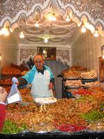 morocco street trader - sweets