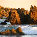 """Rocks and waves_4343"" by davies"