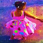 """Twirling girl"" by cherylthomas"