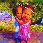 """Sisterly love"" by cherylthomas"