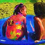 """Pool time fun"" by cherylthomas"