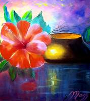 Hibiscus Flower Painting