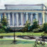 """Lincoln Memorial - Washington DC"" by rudisill"