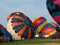 The pulchitude of hot air balloons
