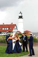 Coastal Coast Guard Wedding