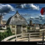 """Angers - A View from the Castle Wall"" by DavideCherubini"