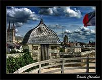 Angers - A View from the Castle Wall