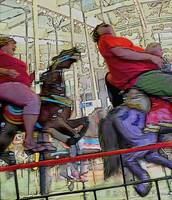 Wild Ride on the Carousel