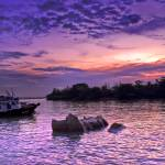 """Sunset beauty @ Pulau Ubin coast"" by pappu"