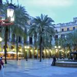 """Placa Reial at Dusk"" by PaulGaitherPhotography"