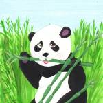 """Munching Panda"" by carliscorner"