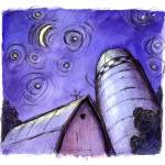 """Night Barn"" by joehox"
