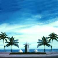 My Front Yard, Ft Lauderdale Beach, FLorida by Joe Gemignani