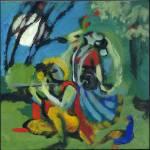 """Krishna and Gopi"" by aaronnathan"