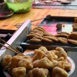 """deep fried glutinous rice desserts"" by kaishin"
