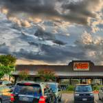 """Cracker Barrel at Sunset"" by TomZimmer"