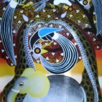 kissing giraffe Art Prints & Posters by ahmed said