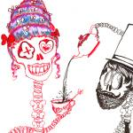 """Skele Tea Time"" by Gracie"