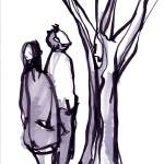 """couple with tree"" by aaronnathan"