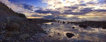 Puget Sound Tide Pool Panorama