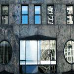 """Building Facade - Windows on the City"" by patriciaschnepf"