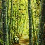 """Panda_Paradise"" by gbensonart"