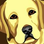 """Labrador Retriever"" by waterart"