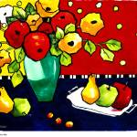 """My Funny Flowers & Fruit"" by CarrieLeeAllbritton"