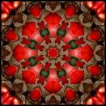 """Red Kaleidoscope #2"" by lyle58"