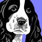 """Springer Spaniel"" by waterart"