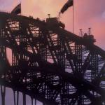 """""""Visitors reaching top of Sydney Harbor Bridge"""" by worldwidearchive"""