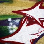 """Graffiti Detail - Pointing West - Houston Graffiti"" by RserranoPhoto"