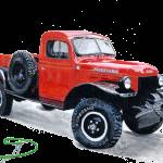 """Power Wagon Truck"" by mozache"