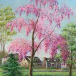 """Weeping Cherry"" by susansartgallery"