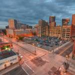 """Downtown Saint Paul from the Suites"" by carbonsilver"