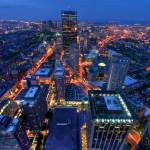 """Beantown from the Prudential"" by carbonsilver"