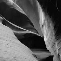 Antelope Canyon Sandstone Abstract
