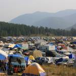 """Tent City at Shambhala"" by dmarshall"