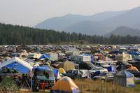 Tent City at Shambhala