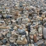 """Stacked Rocks on the Beach 2"" by dmarshall"