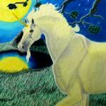 """moonlit fantasy 1985"" by cabartbycindybeck"