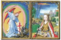 St. Michael Battling Demons and St. Catherine