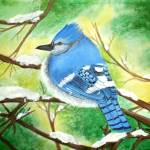 """Blue jay"" by T_ANG3L"