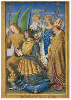 Hours of Louis XII: Kneeling in Prayer