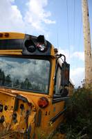 Wrecked School Bus 2