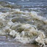 """Delaware Bay Rough Surf"" by ghardesty"