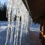 """Icicles on Roof"" by dmarshall"
