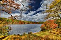 Harriman State Park in the Fall Season, NY